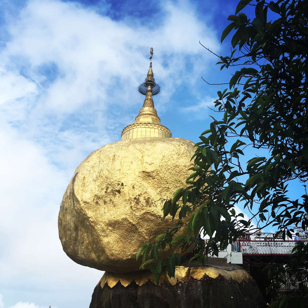 Golden Rock – Mount Kyaitko