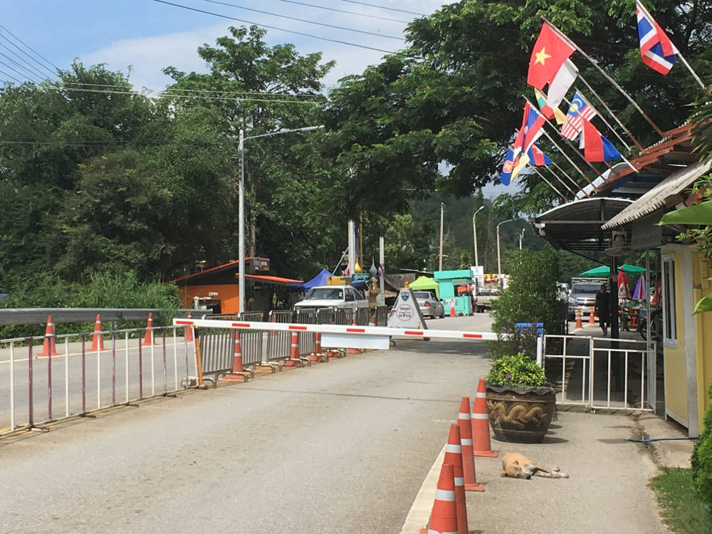 Grenze Phu Nam Ron (Thailand) / Htee Khee (Myanmar)