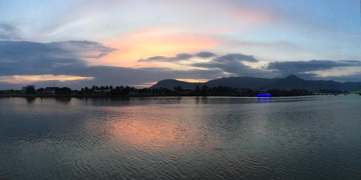 Aussicht Kampot