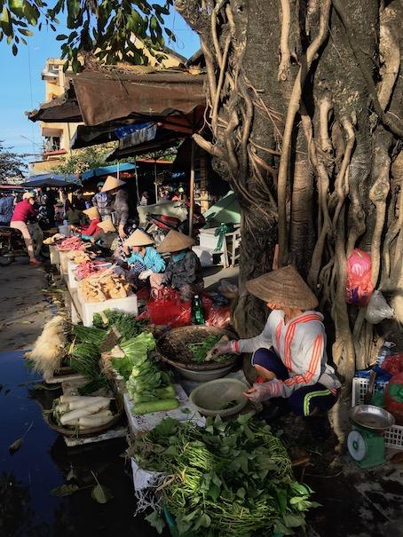 Marktfrauen in Hoi-An