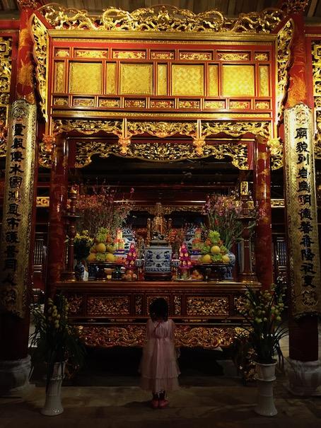 Neujahrsgebet in Hanoi