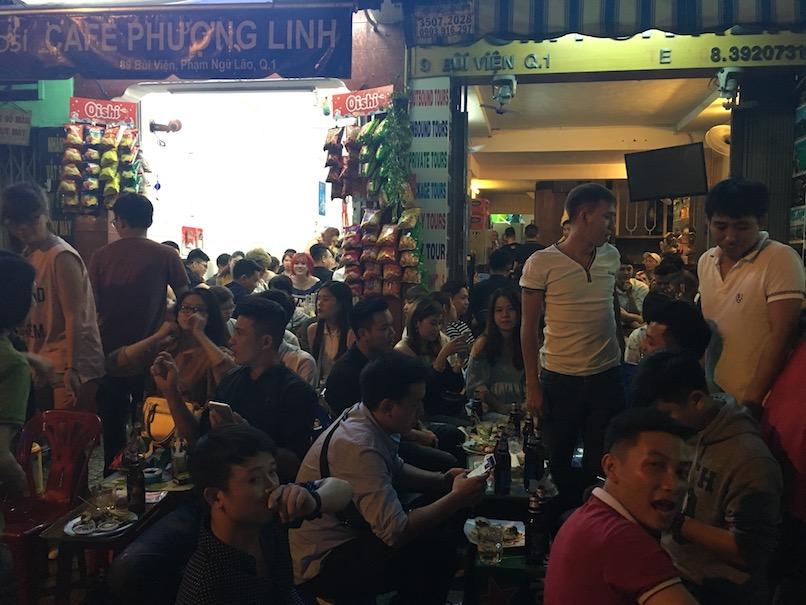 Saigon am Abend
