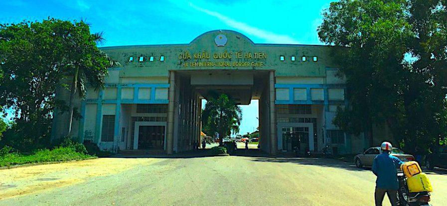 Vietnam Grenze zu Kambodscha