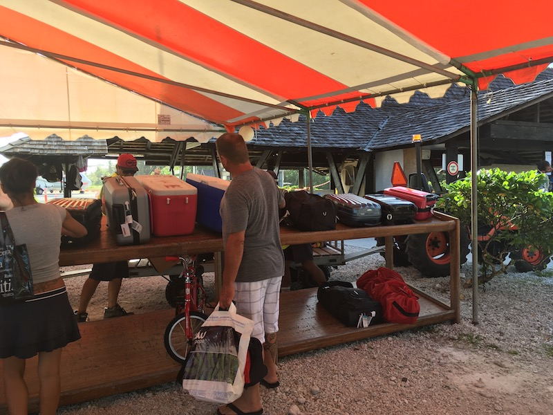 Maupiti Airport Baggage Claim