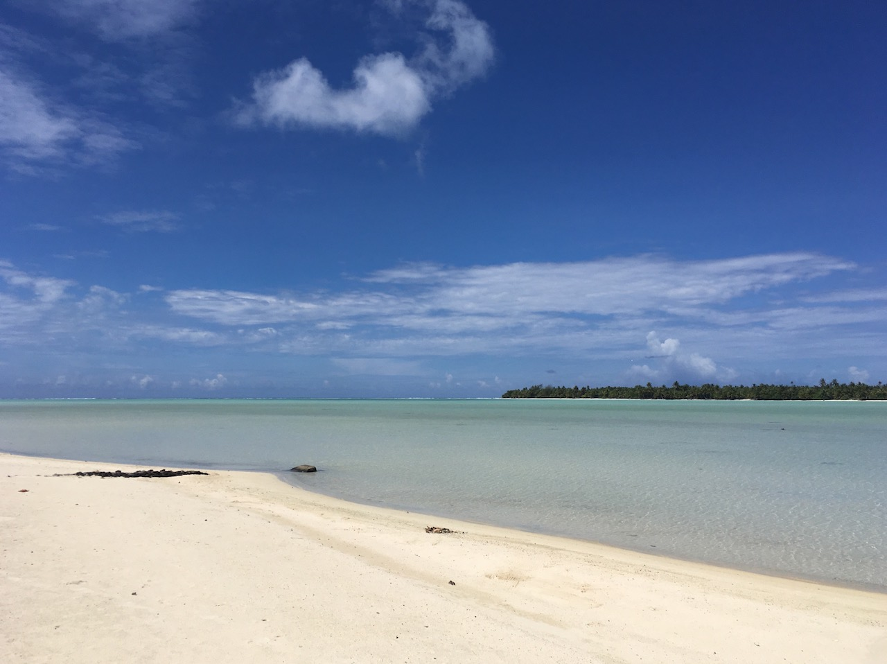 Maupiti Strand