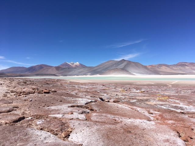 Atacama Desert: Piedras Rojas (rote Steine)