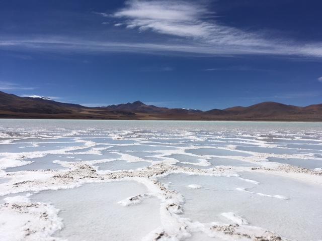 Atacama Desert: Salzwüste