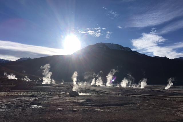 Atacama Desert: Nochmal Geysire