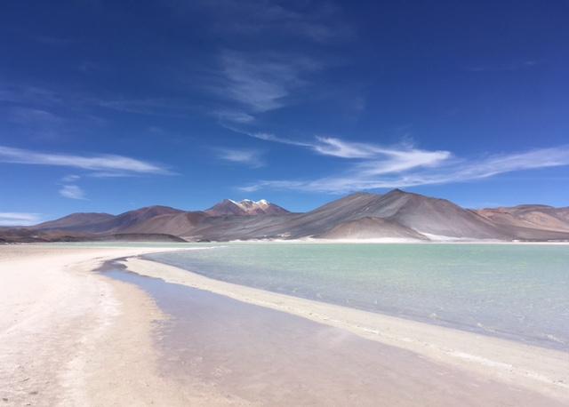 Atacama Desert: Salzlagune