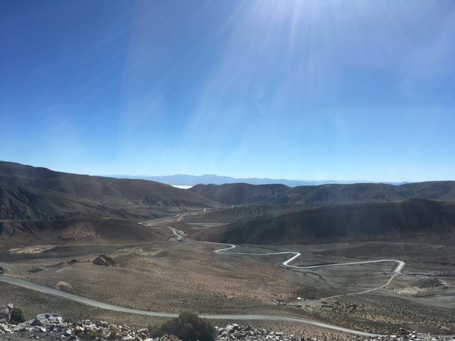 So schlängelt sich der Weg nach Salta