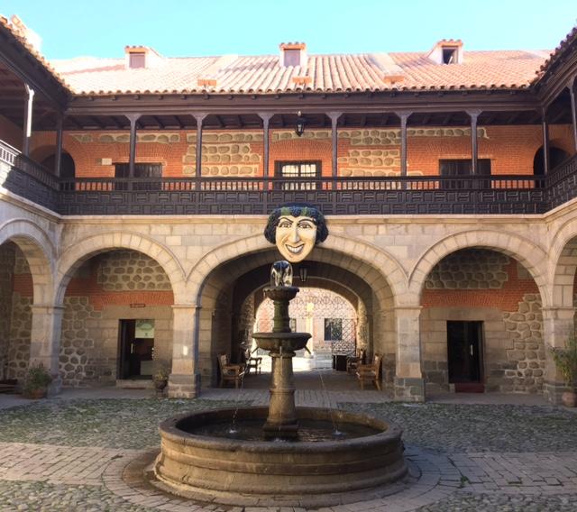 La Moneda (die Münzprägerei) in Potosí.