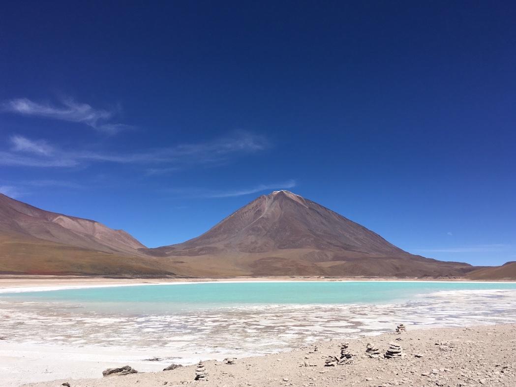 Uyuni-Tour: Laguna Verde