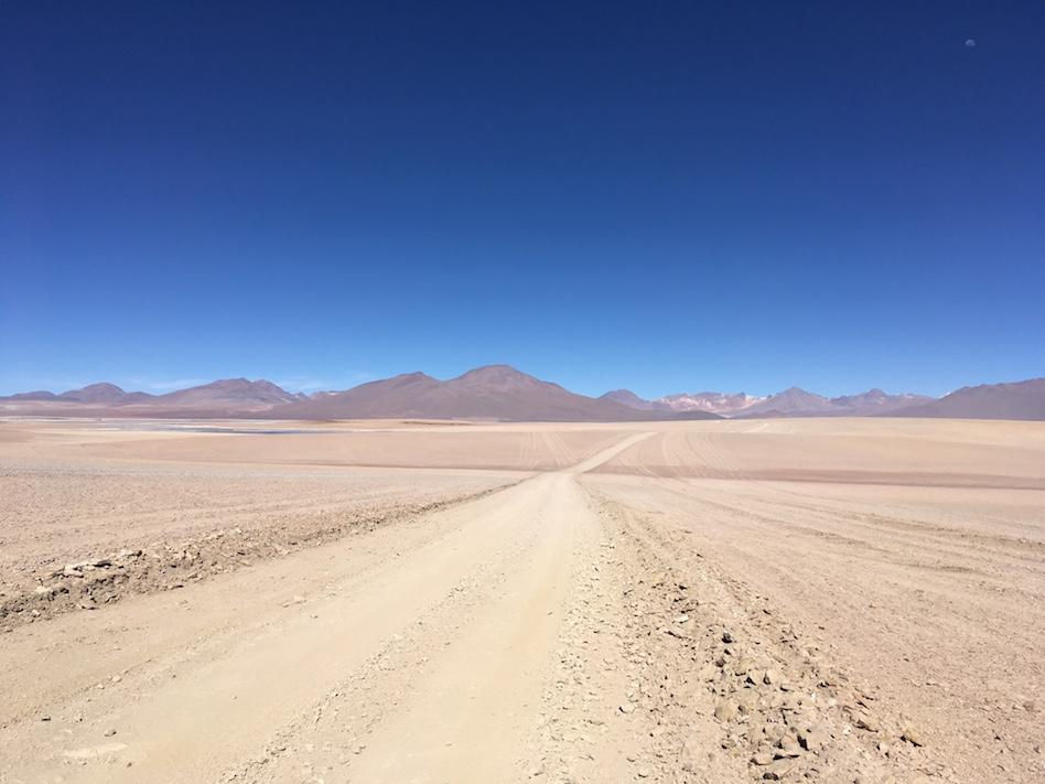 Uyuni-Tour: Flach und bergig