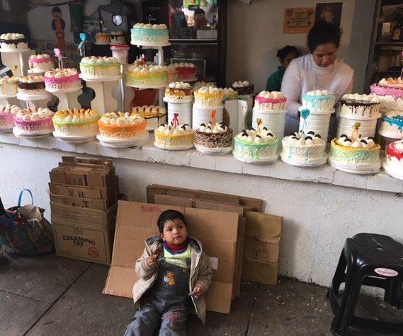 Auf dem Markt in Sucre