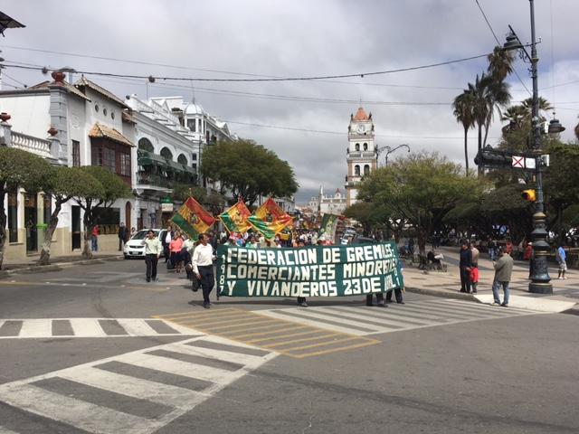 Demo in Sucre