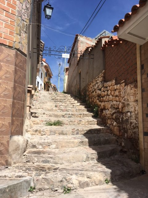 Gasse in Sucre