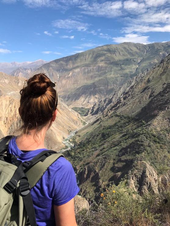 Blick in den Colca Canyon