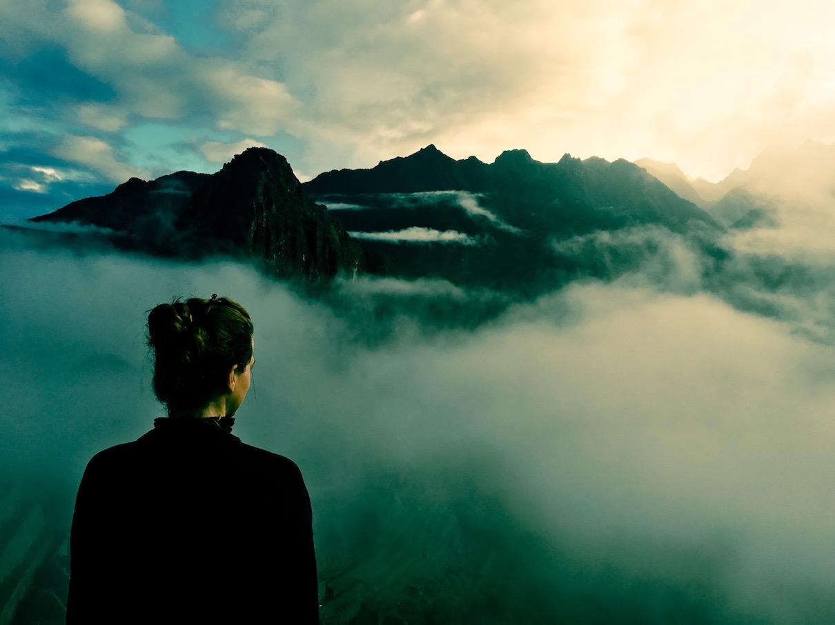 Machu Picchu im Morgengrauen