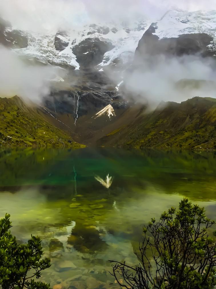 Humantay Lake auf dem Salkantay Trek