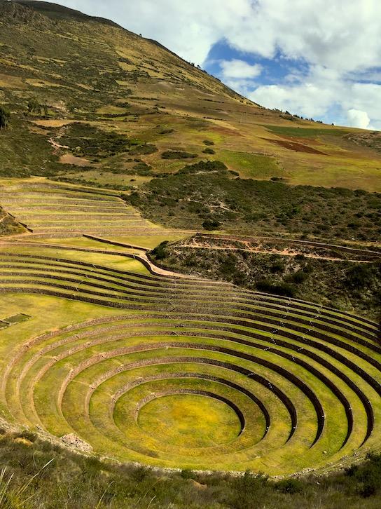 Valle Sagrado: Moray (diese Terrassen dienten den Inka als Versuchsterrassen)