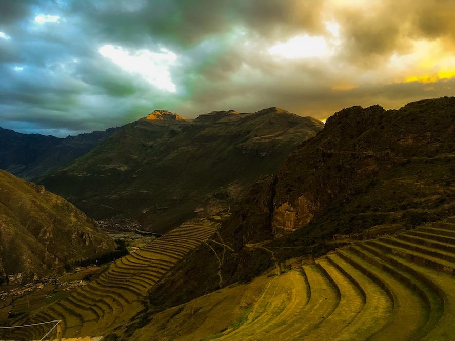 Valle Sagrado: Terrassen von Pisac