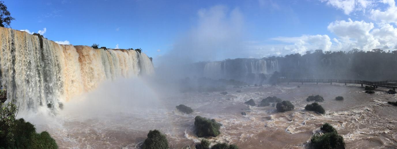 Iguaçu-Fälle - sorry, ich kann nicht aufhören