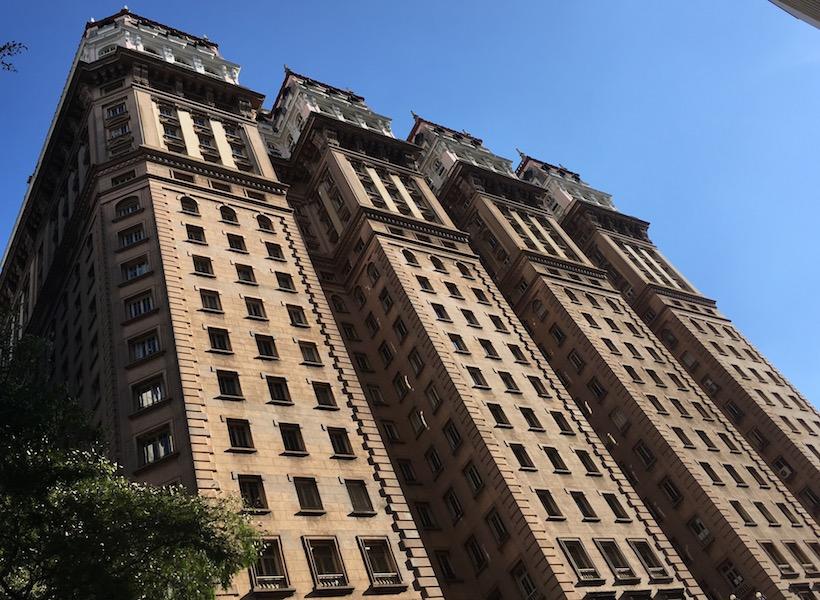 São Paulo: Mein Lieblingsgebäude, das Edifício Martinelli