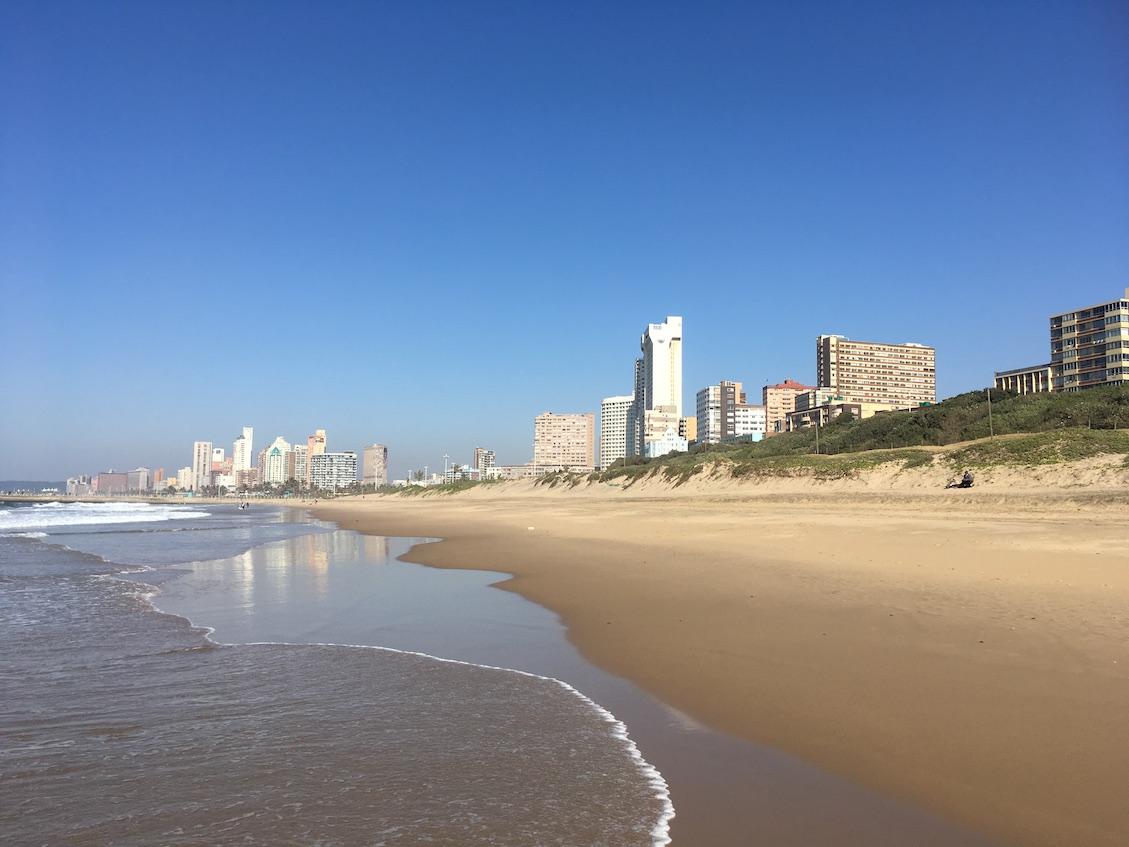 Durban Strandpromenade