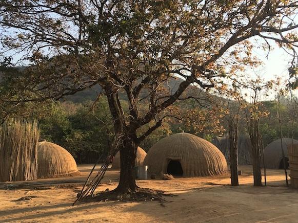 Swasiland: traditionelle Behausung