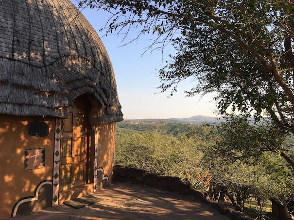 Eine typische Zulu-Behausung (so lebt heute aber keiner mehr)