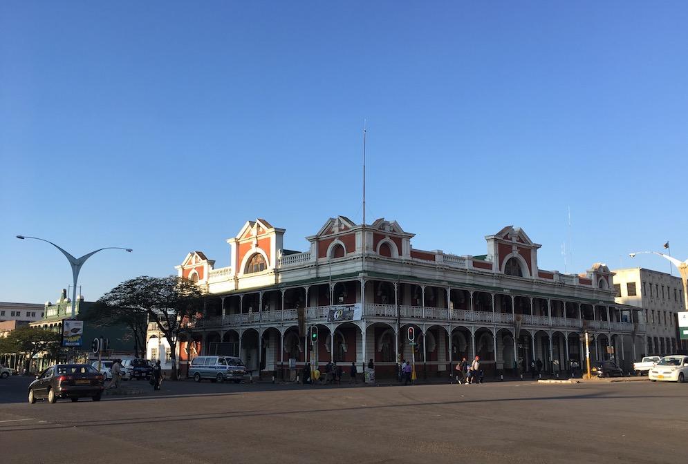 Die Stadt Bulawayo – eine der schöneren Ecken