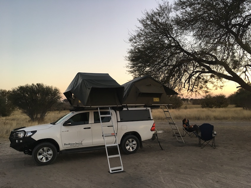 CKGR Campsite