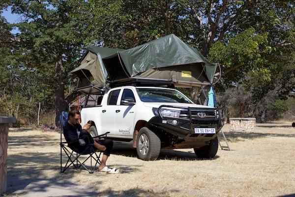 Hwange National Park: Zwischen den Safaris