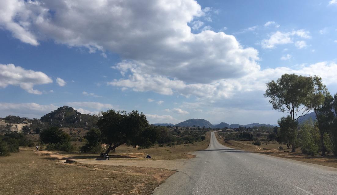 Simbabwe – nicht besonders viel los auf den Straßen