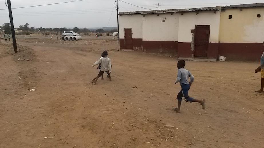 Kleine Fußballer